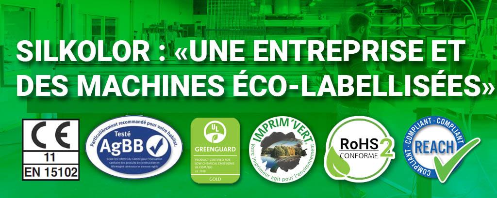 Silkolor : Une entreprise et des machines éco-labellisées